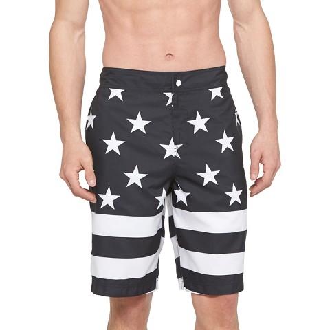 Mens Flag Board Shorts