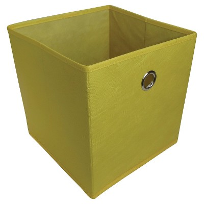 "Fabric Cube Storage Bin 11"" - Yellow - Room Essentials™"