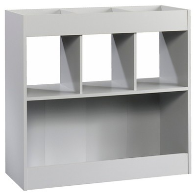 UPC 042666162944 Product Image For Sauder Storage Cabinet: Circo Bin Storage  Cube, Grey Birch