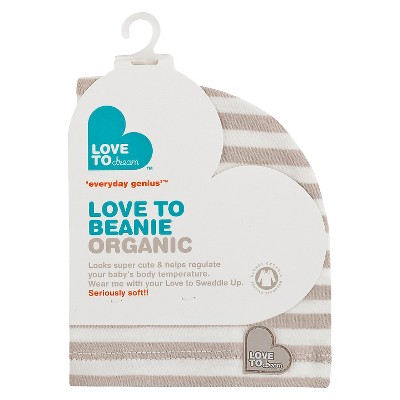 Love To Swaddle Up Beanie - Organic Taupe