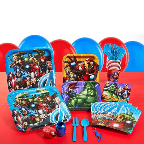 Avengers Assemble Birthday Party Pack : Target