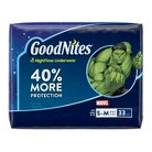 GoodNites® Underwear for Boys, Big Pack - Size S/M (33 Count)