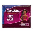 GoodNites® Underwear for Girls, Big Pack - Size S/M (33 Count)