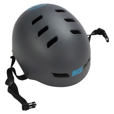 Maple Pro Aggressive Helmet - Matte Gray/Blue