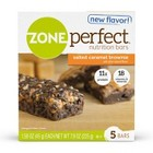 ZonePerfect® Salted Caramel Brownie Nutrition Bars - 5 Count