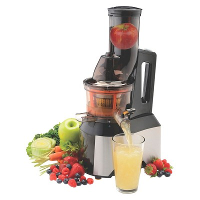 SALTON® 3 in 1 Wide Mouth Low Speed Juicer
