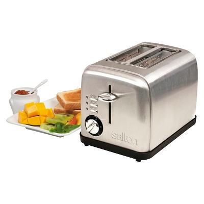 SALTON® Electronic  2 Slice Toaster