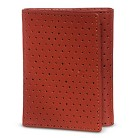 WeSC Men's Joakim Perforated Leather Wallet