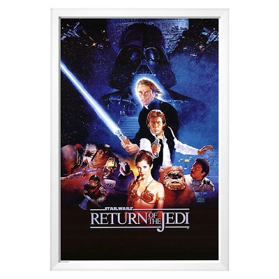 Art.com Star Wars  Return Of The jedi Framed Poster
