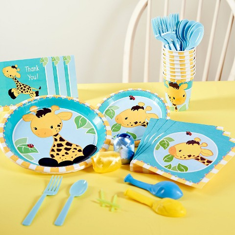Giraffe Birthday Party Pack product details page