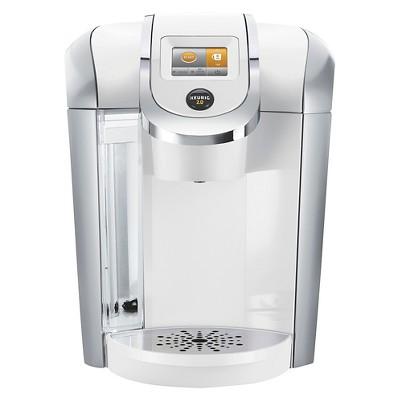 Keurig 2.0 K400 Brewing System with Carafe - White
