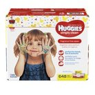 Huggies® Simply Clean® Baby Wipes, Soft Pack - 648 Count