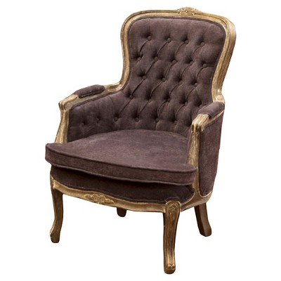 Antonette Weathered Chair Dark Grey - Christopher Knight Home