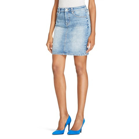 s destroyed denim jean skirt mossimo 174 target