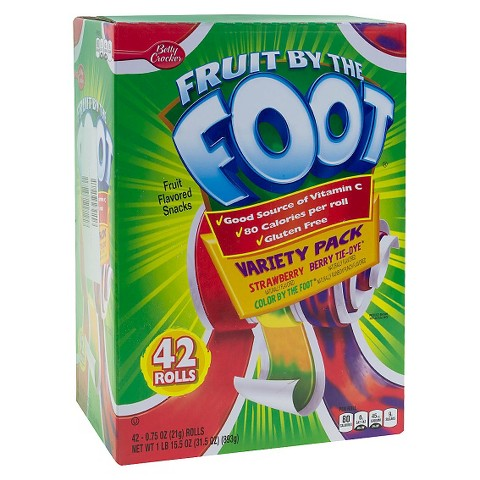 Fruit by The Foot Flavors Fruit by The Foot Fruit