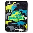 "Jurassic World Throw - Blue/Green (46""x60"")"