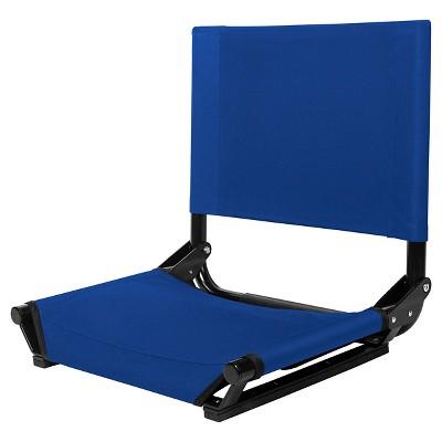 Strata Outdoor Stadium Seat Blue