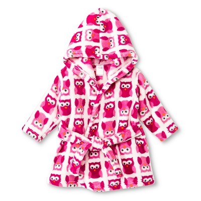Luvable Friends™ Newborn Girls' Fleece Bathrobe - Pink