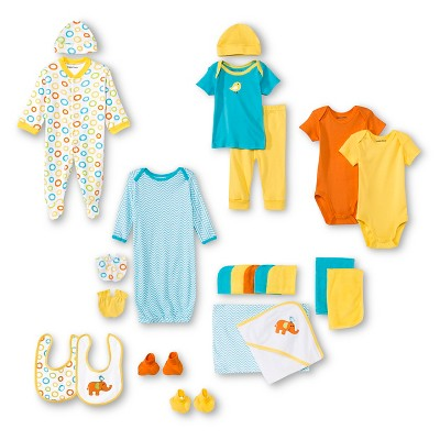 Gender Neutral Layette Sets Luvable Friends 6 M Yellow