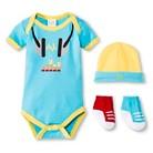 Luvable Friends™ Newborn Boys' Dress Me Up Set - Blue 0-3 M