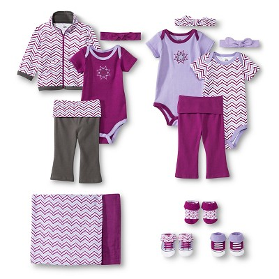 Yoga Sprout™ Newborn Girls' Lotus Collection 0-3 M