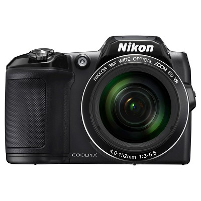 Nikon Coolpix L840 16MP Digital Camera with 38X Optical Zoom - Black