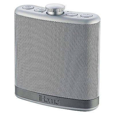 Rechargeable Flask Shaped Bluetooth Stereo Speaker w/ Speakerphone and Case