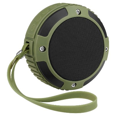 Merkury Rugged Bluetooth Speaker, Green