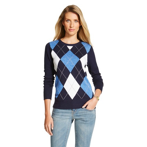 Our womens argyle sweater collection balances a traditional look with style. Made of % fine cotton, there are a variety of patterns from which to choose. Our womens sweater vests can be worn on and off the course, and match with socks from our argyle sock collection.