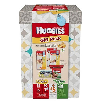 Huggies Newborn Disposable Diaper Set