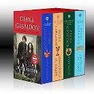 Outlander 4-Copy Boxed Set: Outlander, Dragonfly in Amber, Voyager and Drums of Autumn byDiana Gabaldon (Paperback)