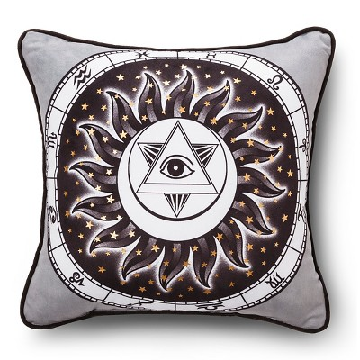 Hot Now Zodiac Decorative Pillow Multicolor