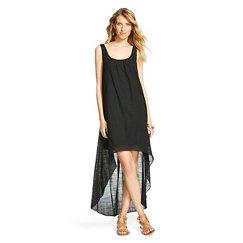 Women's Gauze Maxi Dress - Ebony XS
