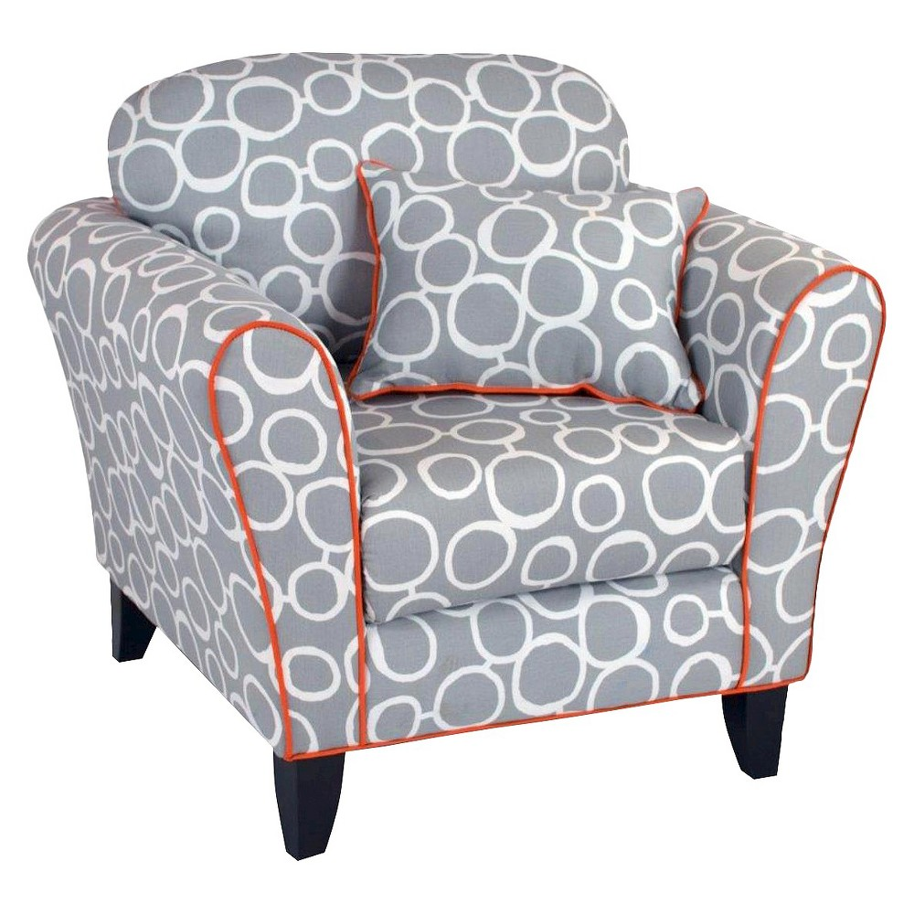 Accent chair kids upholstered chair totally tween chair for Kids upholstered chair