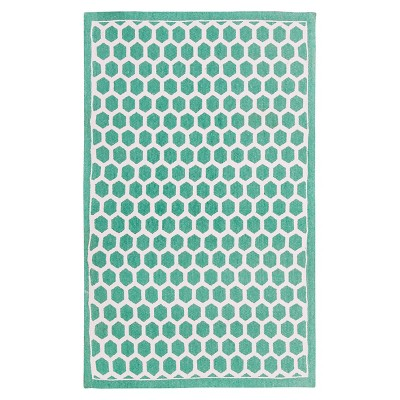 "Waverly Symmetry Art House Accent Rug - Teal (2'3""X3'9"")"