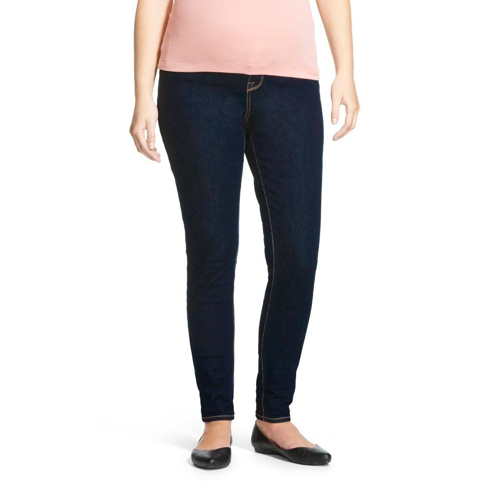 b9c3aa48a1 ... UPC 490290706568 product image for Liz Lange for Target F LL Legging  Pants Denim Blue XXL