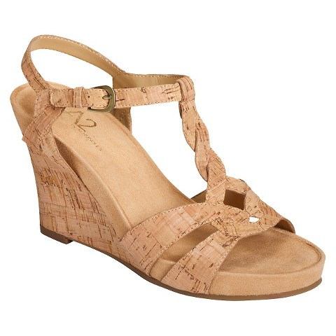 s a2 by aerosoles plush wedge sandals target