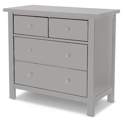Rowen 4 Drawer Kids Dresser – Gray - Delta Children