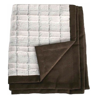 Hot Coffee Faux Fur Pet Throw 40x50 - Boots & Barkley™