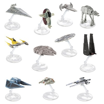 Hot Wheels Star Wars Hero & Villain Starships 11-Pack