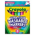 Crayola 8-Count Washable Markers