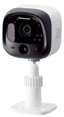 Panasonic Outdoor Camera for Home Monitoring System - White (KX-HNC600W)