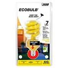 Feit 60-Watt Candelabra Base CFL Light Bulb - Yellow