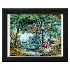 Art.com Alice In Wonderland Mounted Print