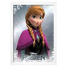 Art.com Frozen Anna Foil Mounted Print