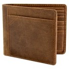 Men's Oiled Leather Bi-Fold Wallet Putney Brown - Londinium by The British Belt Co.