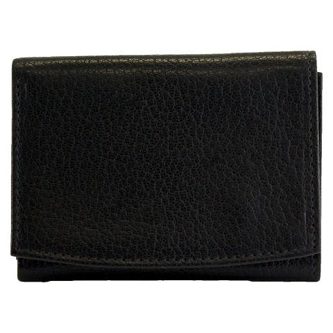 Black Leather Wallet For Men Men's Leather Tri-fold Wallet