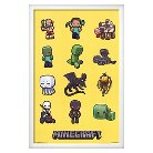 Art.com Minecraft Characters Mounted Print