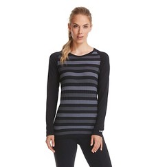 C9 Champion® Women's Premium Seamless Long Sleeve T-Shirt - Black