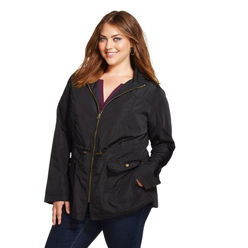 Womens plus size rain coats
